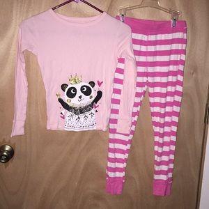 232b974c57c8 Cat and Jack size 10 girls princess panda pajamas